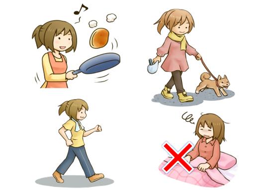 産後のトラブルの予防になります!